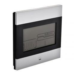 Clatronic WSU 7023 12/24 órás LCD, hőmérséklet, páratartalom fekete-inox időjárás állomás