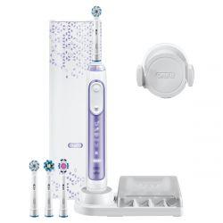 Braun Oral-B Genius fehér-lila vezeték nélküli elektromos fogkefe