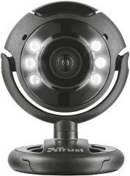 Trust SpotLight Pro 1.3 MP, USB, mikrofon fekete webkamera
