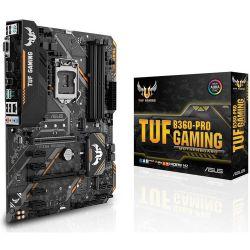 ASUS S1151 TUF B360-PRO Intel B360, ATX gaming alaplap