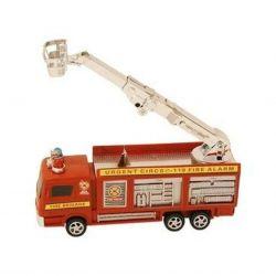 Regio 90993 (20 cm) piros tűzoltóautó emelőkosárral
