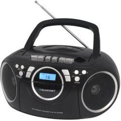 Blaupunkt BB16BK 3.4W fekete rádiómagnó