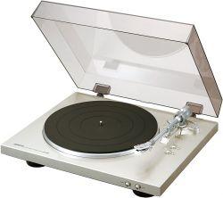 Denon DP-300F 60 dB, 33, 45 ezüst lemezjátszó