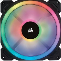 Corsair LL120 RGB LED Static Pressure 120 mm, PWM, single fan hűtő ventilátor