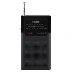 Sencor SRD 1100B FM/AM Jack 3,5 mm fekete zsebrádió