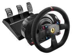 Thrustmaster Ferrari T300 Alcantara PS3/PS4/PC fekete kormány + pedál