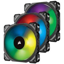 Corsair ML Pro RGB 120 Three Fan Kit High Static Pressure 4 pin hűtő ventilátor