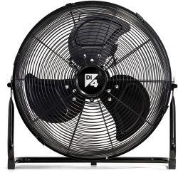 DI4 Force 45 120 W, 3 sebesség fekete asztali ventilátor