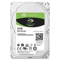 Seagate BarraCuda 2.5'' 5TB SATA3 5400RPM 128MB belső merevlemez