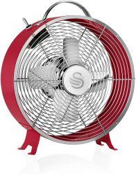 Swan SFA12630RN 20W piros asztali ventilátor