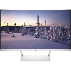 "HP LED 27"" FHD, 3000:1, 300cd, 5ms, DisplayPort, HDMI ívelt monitor"