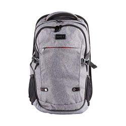 Natec ALPACA, 15,6'' szürke notebook hátizsák