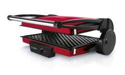 Bosch TFB4402V 1800W piros kontakt grill