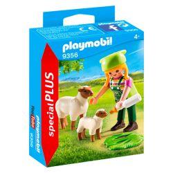 Playmobil® (57946) Special PLUS Farmerlány báránykákkal