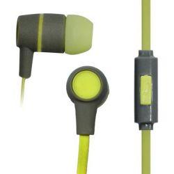 Vakoss SK-214G 3.5mm zöld vezetékes mikrofonos fülhallgató
