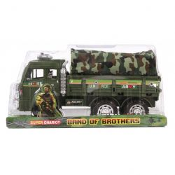 MTS 96104 (25 x 10 x 10 cm) terepszínű katonai teherautó ponyvával
