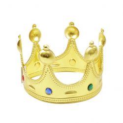 MTS 96551 (17 cm) arany tépőzáras királyi korona