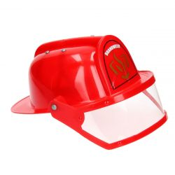 Thimb Toys 98659 piros tűzoltó sisak ellenzővel