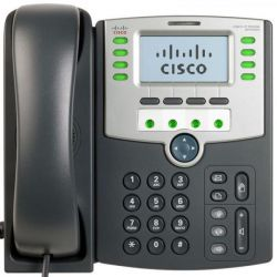 Cisco SPA509G Display, PoE and PC Port 12 vonalas IP telefon