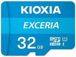 Kioxia Exceria 32GB MicroSDHC Class 10 UHS-I memóriakártya