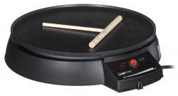 Clatronic CM3372 900 W, 29 cm fekete elektromos palacsintasütő