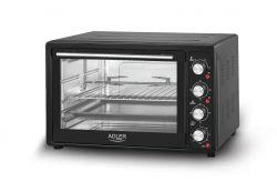 Adler AD 6010 45 l, 2000 W fekete elektromos sütő