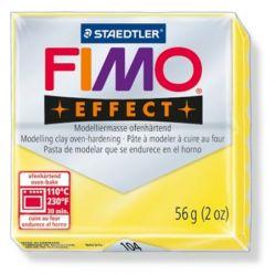 """FIMO """"Effect"""" égethető áttetsző sárga gyurma (56 g)"""