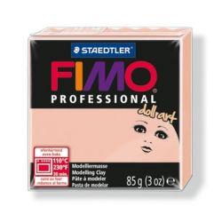 """FIMO """"Professional Doll Art"""" áttetsző rózsaszín porcelángyurma (85 g)"""