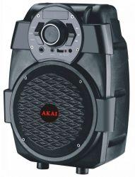 Akai ABTS-806 fekete hordozható bluetooth hangszóró