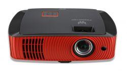 Acer Z650 adatkivetítő 2200 ANSI lumen DLP 1080p (1920x1080) Fekete, Vörös Mennyezetre szerelhető kivetítő