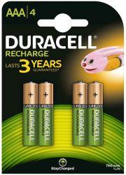 Duracell AAA 750mAh (4 db) Újratölthető akku elem