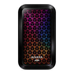 ADATA SE770 512G USB3.2-A/C RGB Külső SSD