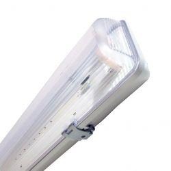 Art L4451066 60 cm T8, IP65, G13 fehér-átlátszó LED cső lámpatest