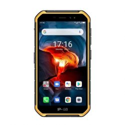 """Ulefone Armor X7 5"""" 16GB Dual SIM 3G narancs strapabíró okostelefon"""