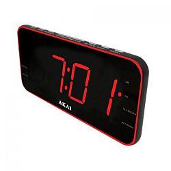 Akai ACR-3899 fekete rádiós óra