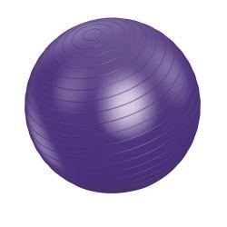 Vivamax GYVGL75 (75 cm) lila gimnasztikai labda