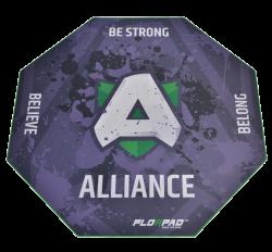 Florpad Alliance 120x120x0,4 cm mintás gamer szőnyeg