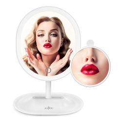 Anjou AJ-MTA005 LED fehér kozmetikai tükör