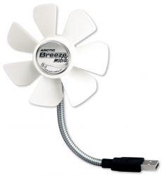 Arctic Breeze szürke USB asztali ventilátor