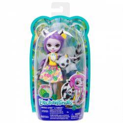 Mattel Enchantimals - Larissa Lemur és Ringlet baba állatkával