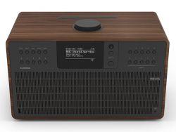 REVO REVOSCD-B 40W Wifi/FM/DAB/Bluetooth/CD dió/fekete zenelejátszó