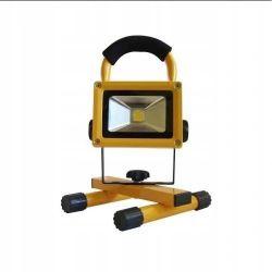 ART L4111020A 20W, IP65, 8.8Ah, car plug, 230V töltő, 4000K fekete/narancs hordozható LED lámpa