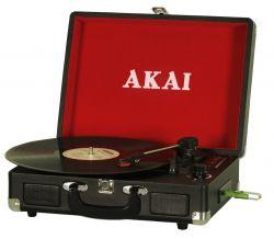 Akai ATT-E10 20 Hz~20 KHz, 2 x 3W, 4 Ohm fekete-piros rögzítős lemezlejátszó