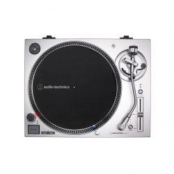 Audio-Technica AT-LP120XUSB-SV 50 dB, 33 1/3, 45, 78 fordulat/perc, USB kimenet szürke bakelit lemezjátszó