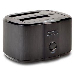 "Axagon ADSA-ST USB3.0, 2x 3,5"" fekete Hdd dokkoló"