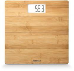 Soehnle Bamboo max.180kg barna famintás digitális személymérleg