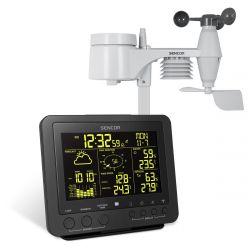 Sencor SWS 9700 Professzionális fekete időjárás állomás
