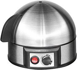 Clatronic EK 3321 400 W, max. 7 tojás fekete-inox tojásfőző