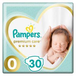 Pampers Premium Care 0-ás 30 darabos pelenka