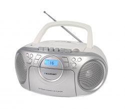 Blaupunkt BB16WH FM/CD/MP3/USB kazettás fehér-ezüst boombox